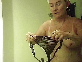 Sexy wife on vacation in Florida with sunburn