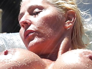 Super Milf - Jan B Poolside
