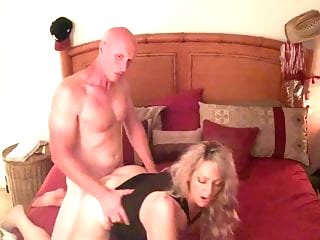 Blonde MILF Wife Fucks a Big White Cock, Part 2