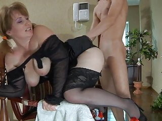 Big ass maid does anal