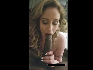POV Huge Tits Milf Showing Her Skills By Sucking BBC