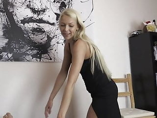 Hot Blonde Escort gets Creampie