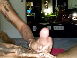 German tattooed escort takes huge load in her mouth